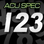 12cm (120mm) Race Numbers ACU SPEC
